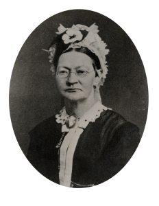 AAks-Portrettsamlingen mappe 54 - Hendrika Høegh født Christophersen - 1819-1884 - form
