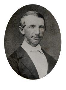 AAks-Portrettsamlingen mappe 54 - trelasthandler Ole Andreas Høegh - 1825-1877 - form