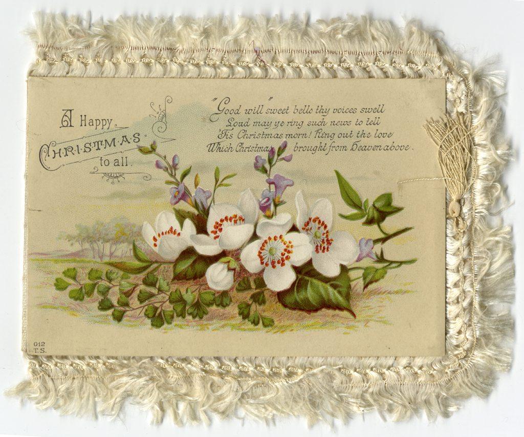 Julekort fra Pa-1932 Eydes samling, boks VII.