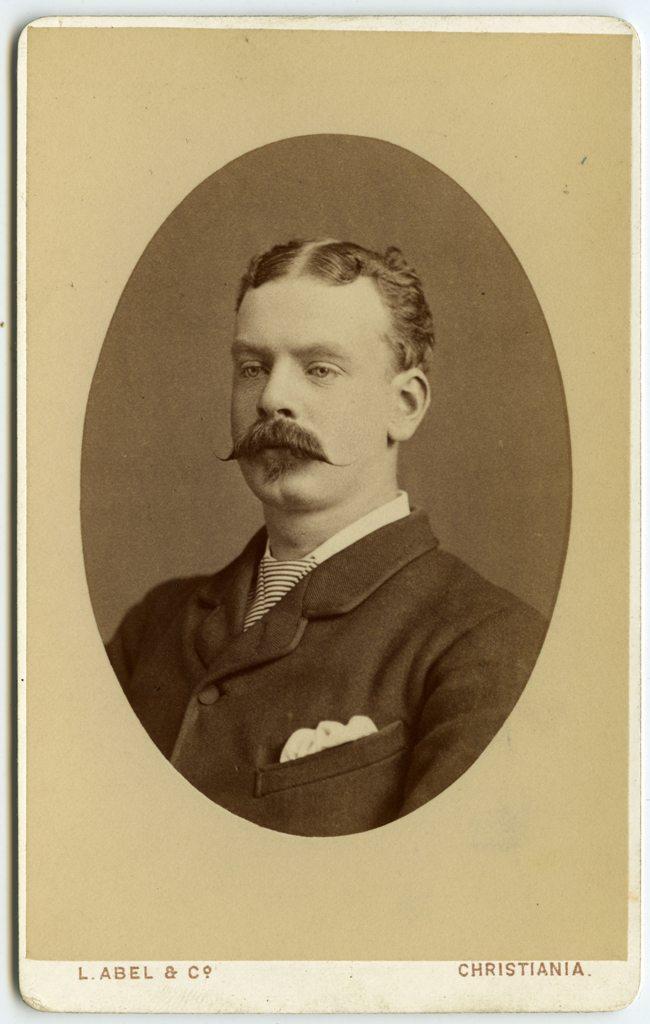 Christian Samuel Eyde. Fotograf: L. Abel & Co. Billedsamlingen, Kuben.