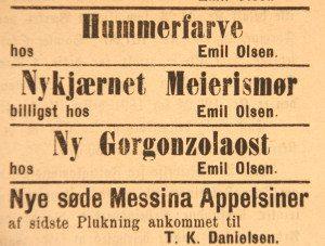 Vestlandske Tidende 18. februar 1892.