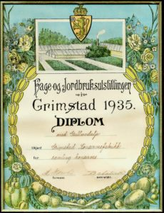 hage-og-jordbruksutstillingen-i-grimstad-1935-gullmedalje