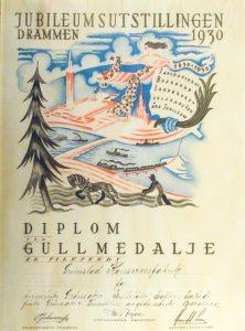 jubileumsutstillingen-i-drammen-i-1930-gullmedalje
