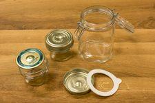 glass klargjøres for sterilisering