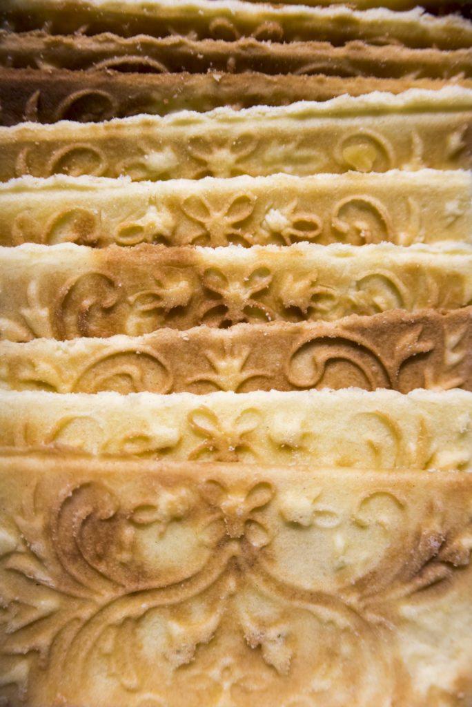 Det som kjennetegner goro er de vakre mønstrene