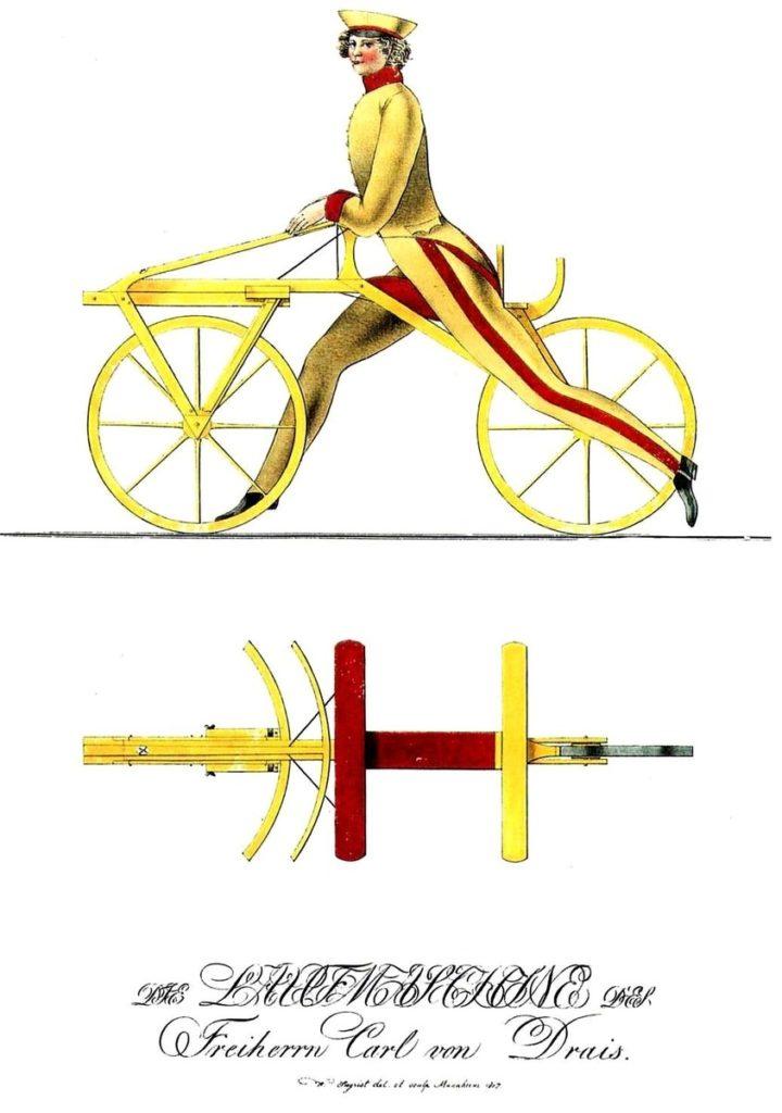 Sykkelens forløper.