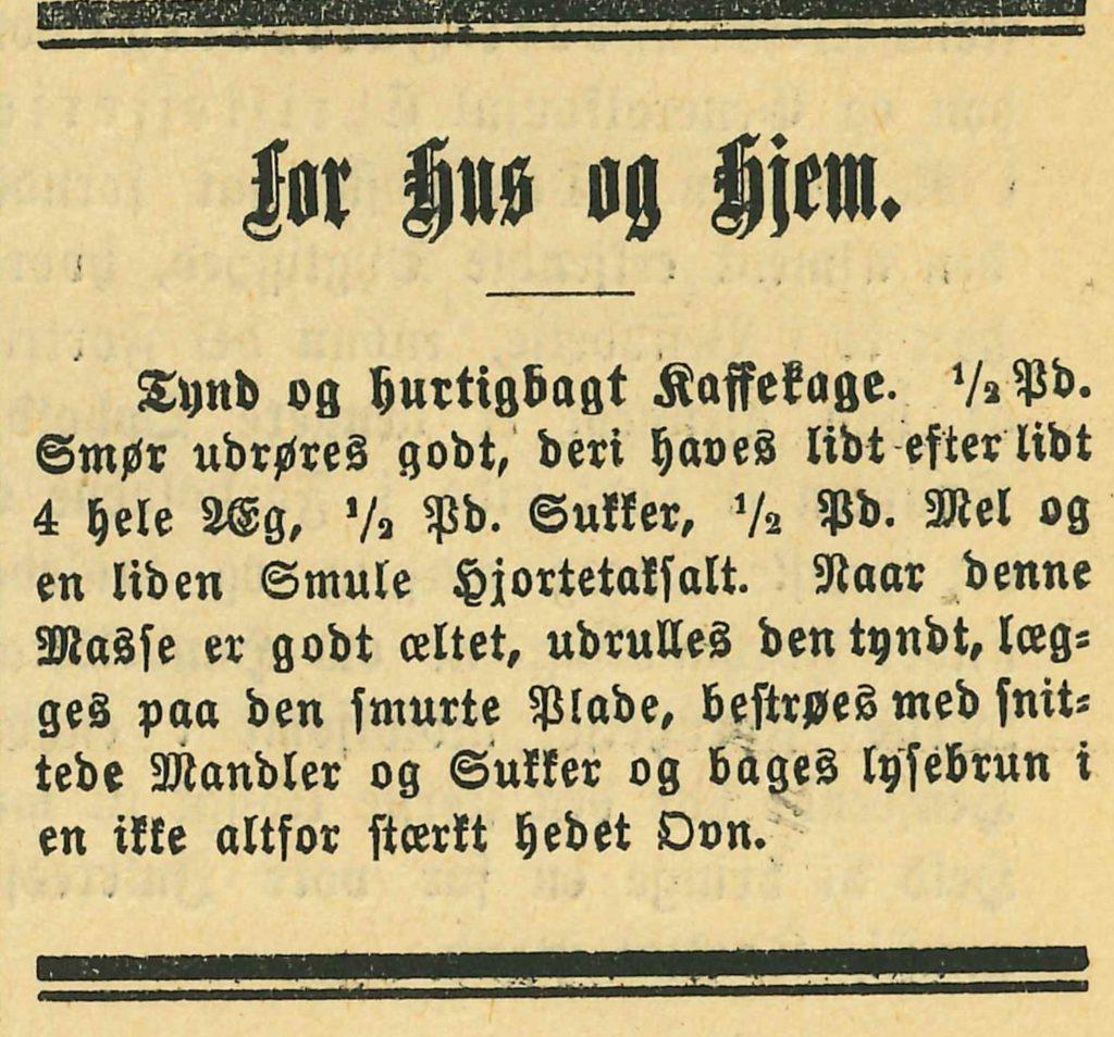 Liten notis i Kristianiaposten 26.juni 1891. Vi har ikke funnet lignedne notis i lokal presse som Agderposten eller Vestlandske tidene fra samme tidsperiode.